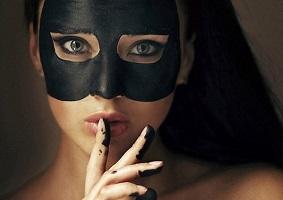 Чёрная глина для лица