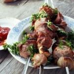 Рецепт шашлыка из свинины в йогуртово-шафрановом маринаде